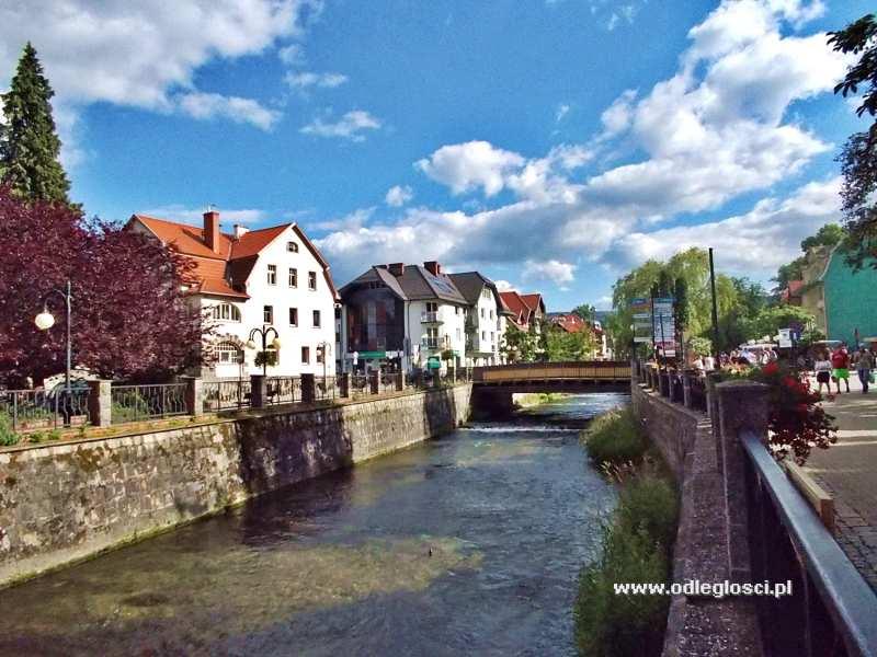 Rzeka Bystrzyca Dusznicka Polanica Zdrój Zdjęcie Nr 23 199